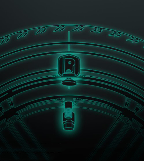 Датчик давления шин Xiaomi 70 Mai Tire Pressure Monitor TPMS